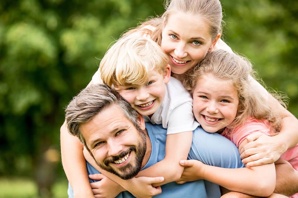 famiglia con minorenni
