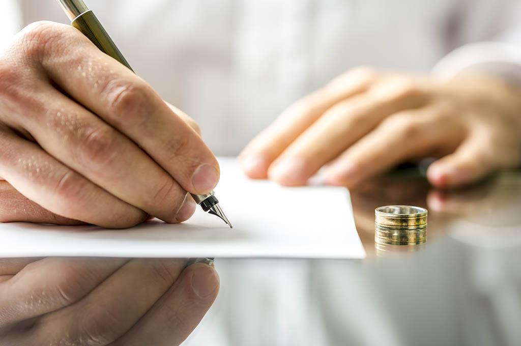 firma per divorzio